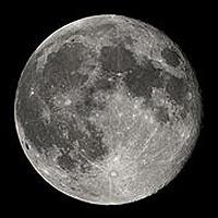 Луна в бинокль