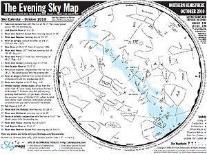 карта звездного неба