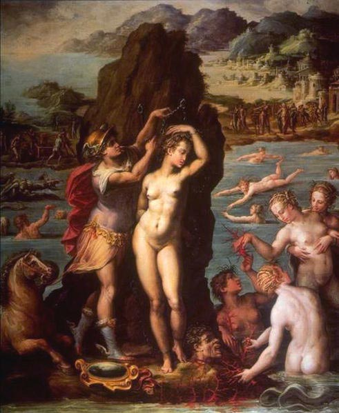 Джорджо Вазари, Персей и Андромеда, 1570, Флоренция