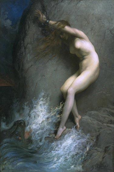 Гюстав Доре, Андромеда прикованная к скале