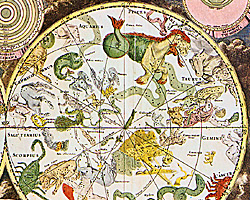 Карта созвездий фредерик де вит