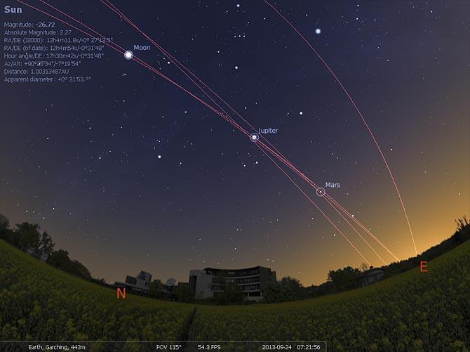 Stellarium скачать бесплатно