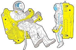 Персональный транспорт для космонавта